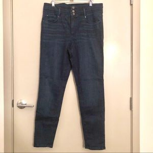Ann Taylor high waist denim